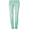ROXANNE - jeansy slim fit zielony - 7 for all mankind