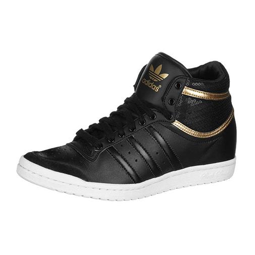 Botki na koturnie TOP TEN HI SLEEK marka: adidas Originals