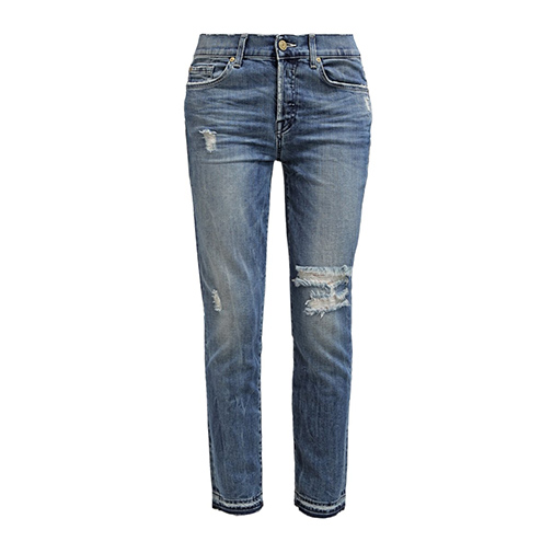 JOSIE - jeansy relaxed fit - 7 for all mankind - kolor niebieski