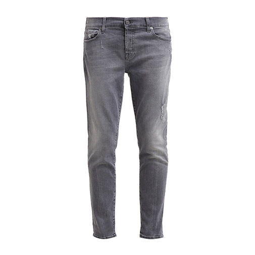 JOSEFINA - jeansy relaxed fit - 7 for all mankind - kolor szary