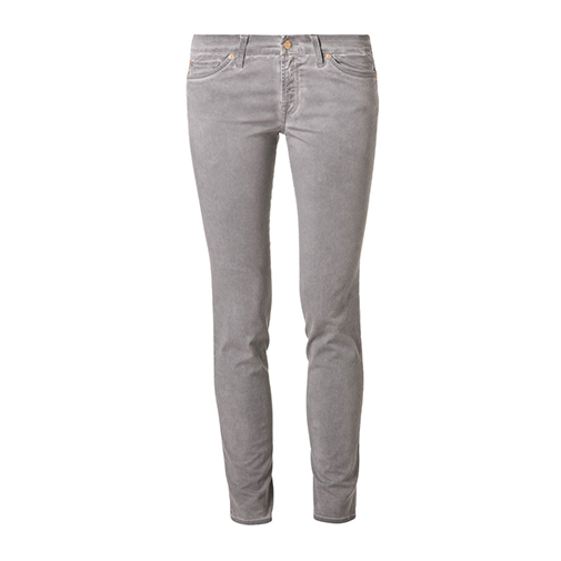 CHRISTEN - jeansy slim fit - 7 for all mankind - kolor szary