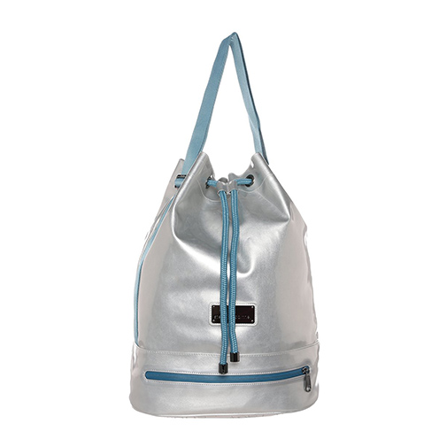 FASHION SHAPE - torba sportowa - adidas by Stella McCartney - kolor srebrny